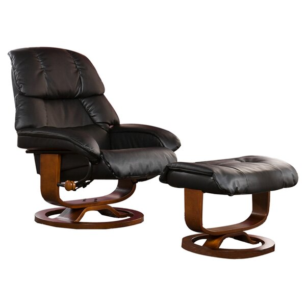 Easter Standard Manual Swivel Recliner with Ottoma