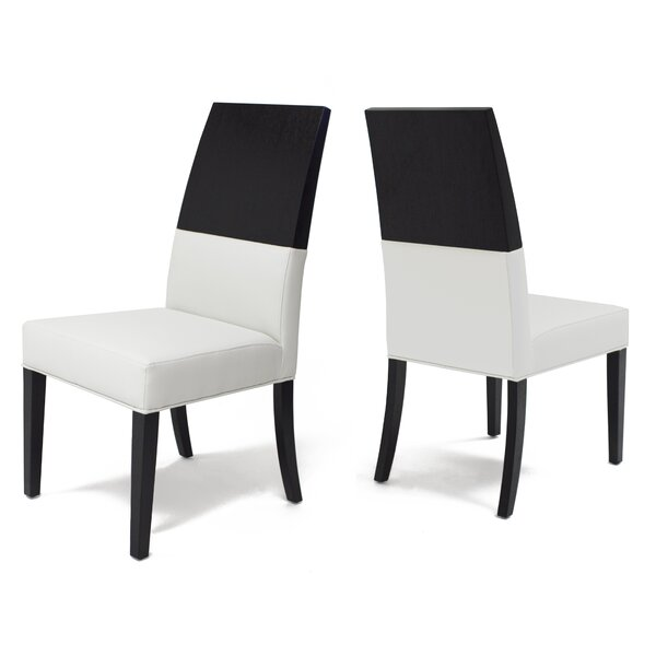 Almyra Upholstered Dining Chair (Set Of 2) By Everly Quinn
