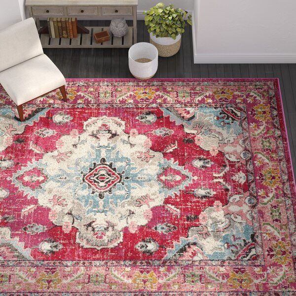 Portillo Pink Area Rug by Zipcode Design