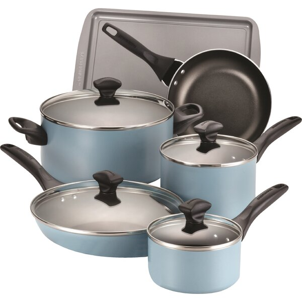 15 Piece Non-Stick Cookware Set by Farberware