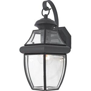 Mellen 1-Light Modern Outdoor Wall Lantern