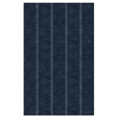 Darby Home Costourbridge Stripes Hand Tufted Wool Navy Blue Area Rug Darby Home Co Rug Size Rectangle 6 X 9 Dailymail