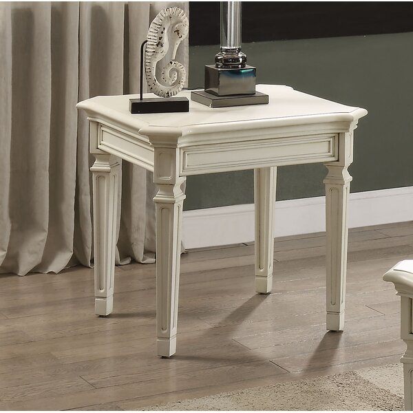 Pinkard End Table by One Allium Way