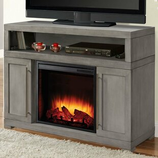 Mackenzie Media TV Stand for TVs up to 43 with Fireplace