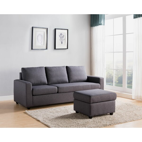 Gatland Reversible Modular Sectional With Ottoman By Ebern Designs
