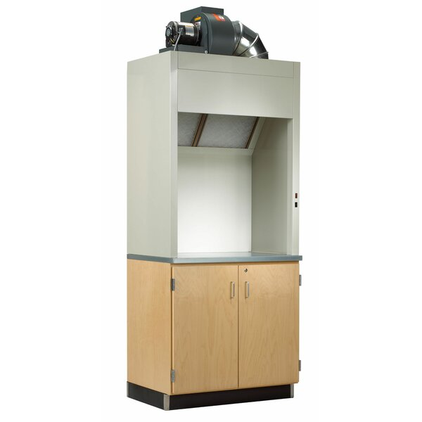 32 Compartment Classroom Cabinet with Doors by Diversified Woodcrafts