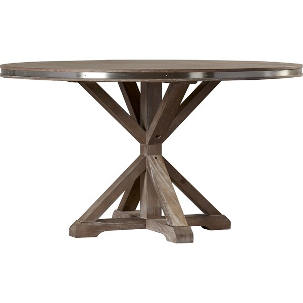 Knaresborough Solid Wood Dining Table by Three Posts