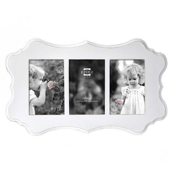 3 Opening Annabelle Ashwood Veneer Wood Picture Frame by Prinz
