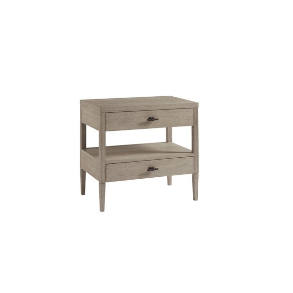 Johnathan 2 Drawer Nightstand by Gracie Oaks