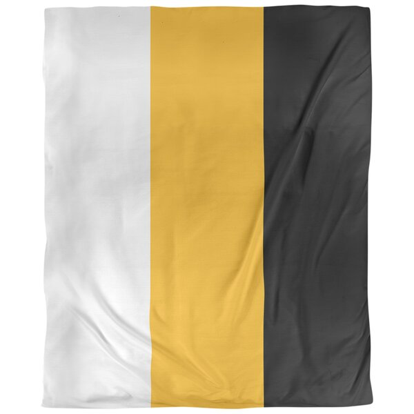 Pittsburgh Single Reversible Duvet Cover