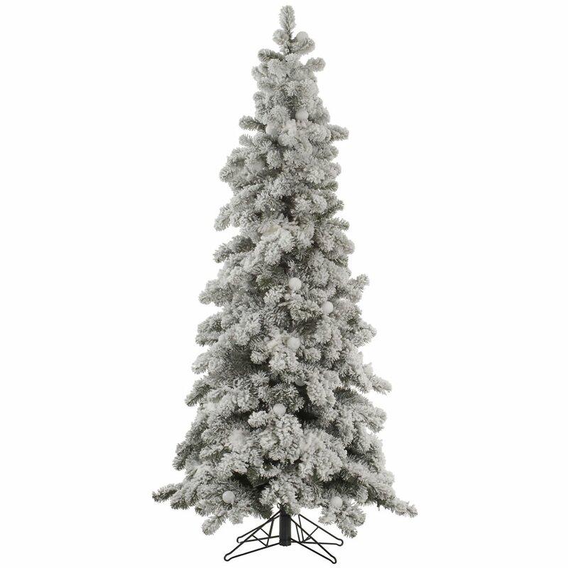 The Holiday Aisle Flocked Kodiak 6' White Spruce Artificial