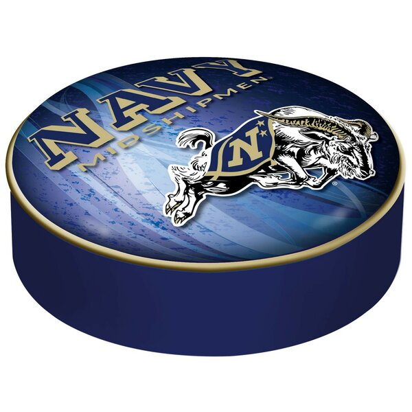US Naval Academy Indoor/Outdoor Cushion Cover by Holland Bar Stool
