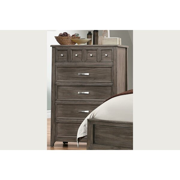 Pirkle 8 Drawer Chest by Gracie Oaks