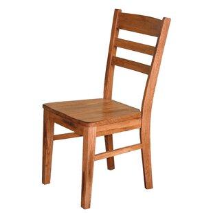 Straight Back Wooden Chair   Wayfair