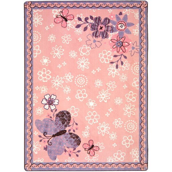 Pink Area Rug by The Conestoga Trading Co.