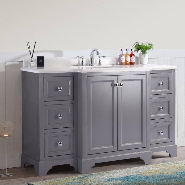 Jaoquim 60 Single Bathroom Vanity Set by Darby Home Co