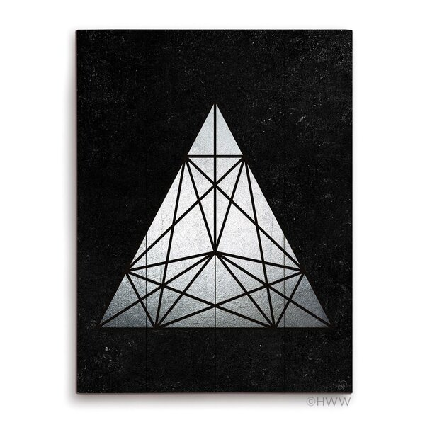 Prism Graphic Art Plaque by Click Wall Art