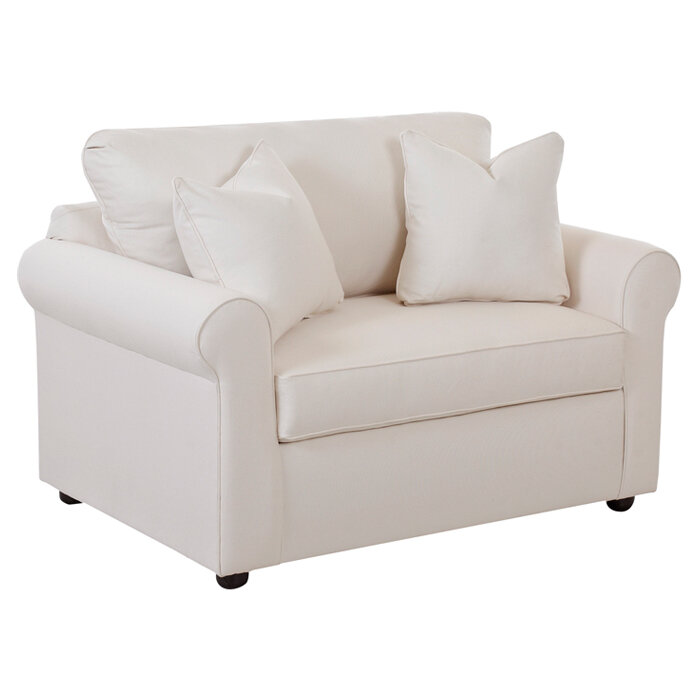 Marco Sleeper Convertible Chair. By Klaussner Furniture