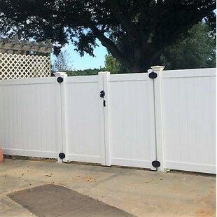 W Heavy Duty Rainier Privacy Fence Gate