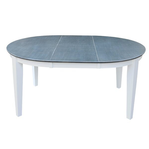 Round to Oval Extendable Dining Table by Sedgewick Industries