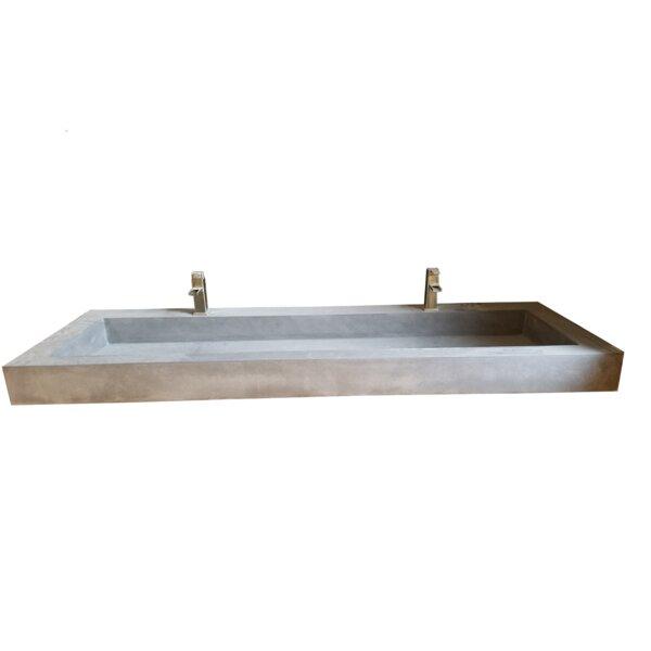 Farmhouse Rectangular Trough Bathroom Sink by Hyde Products