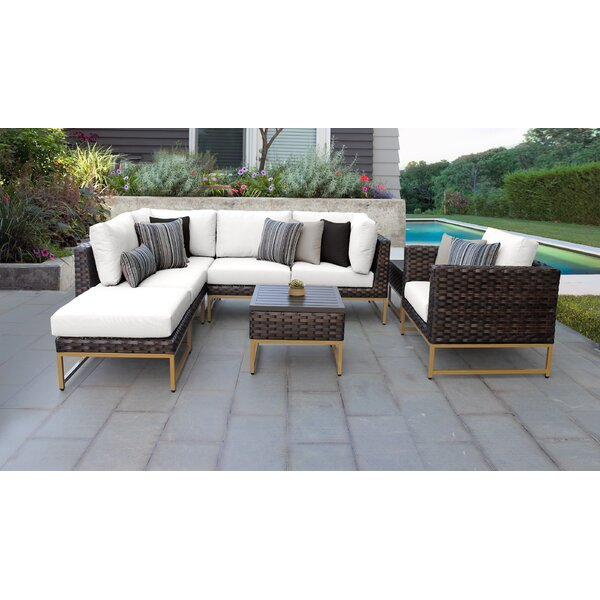 Mcclurg 8 Piece Sectional Seating Group with Cushions
