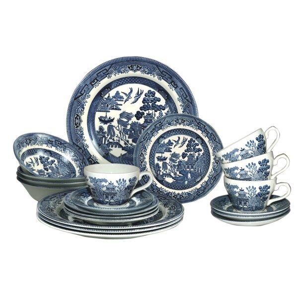 Willow 20 Piece Dinnerware Set by Churchill