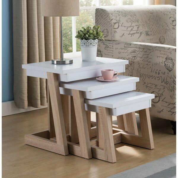 Aldridge 3 Piece Nesting Tables By Latitude Run
