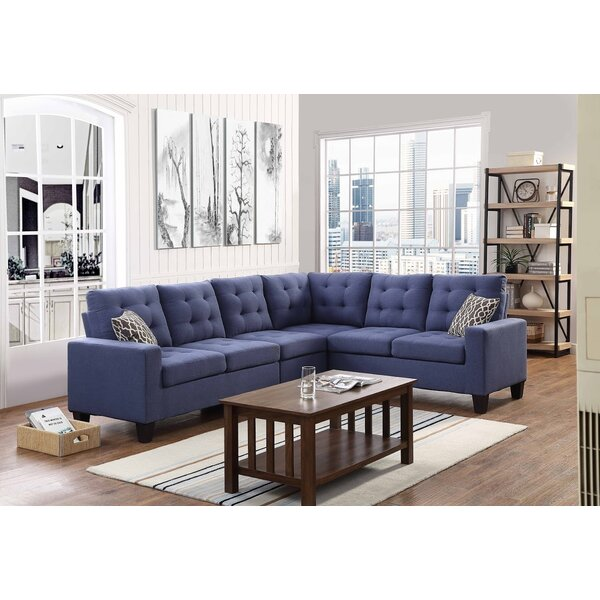 Best #1 Temme Reversible Sectional By Latitude Run Amazing