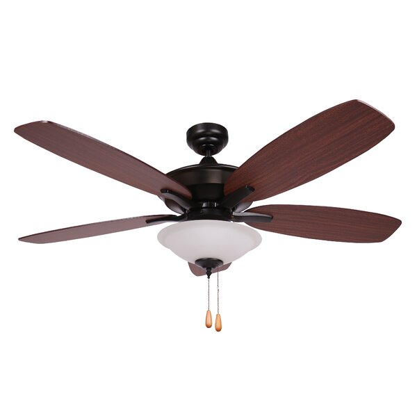 52 Mikkelson 5 Blade Ceiling Fan by Charlton Home