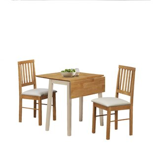 features romantic space saving folding. Aberdeenshire Extendable Dining Set With 2 Chairs Features Romantic Space Saving Folding