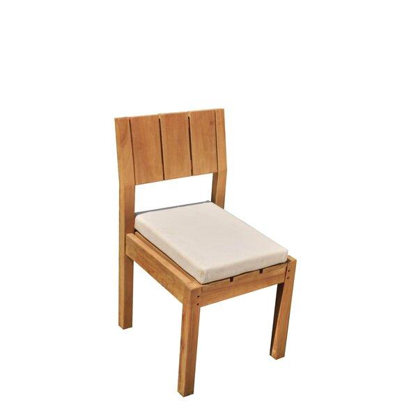 Wilson Folding Teak Patio Dining Chair by Bayou Breeze