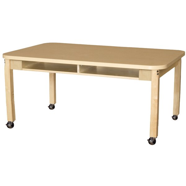 Manufactured Wood 18 Multi-Student Desk by Wood Designs