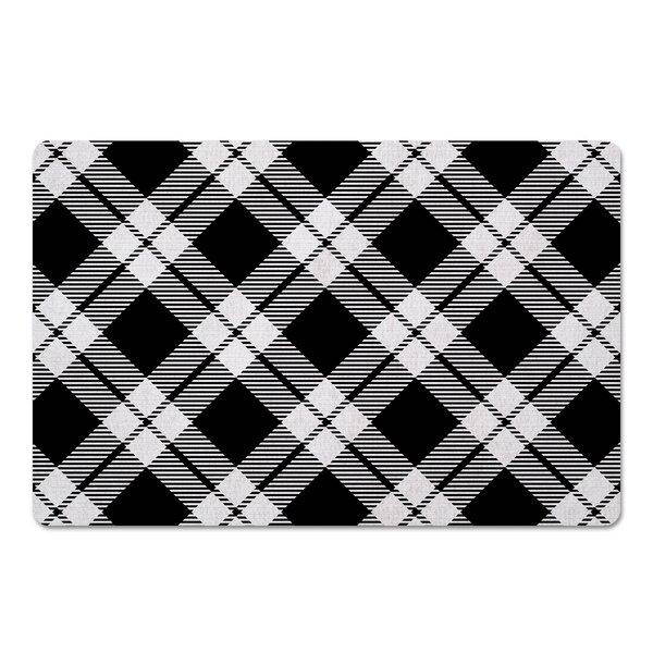 Diagonal Kitchen Mat