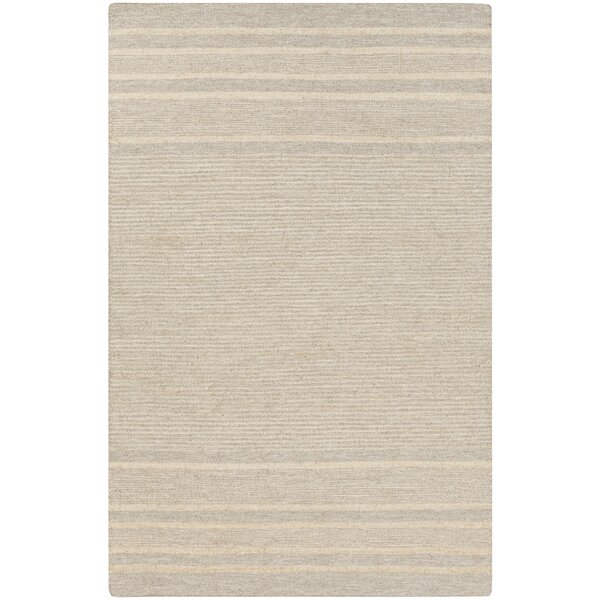Brewington Butter/Gray Area Rug by Highland Dunes