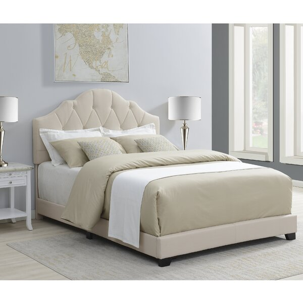 Body Camelback Upholstered Standard Bed by Three Posts