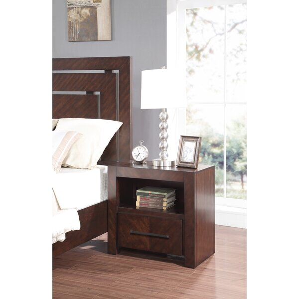 Barton Hill 1 Drawer Nightstand by Brayden Studio