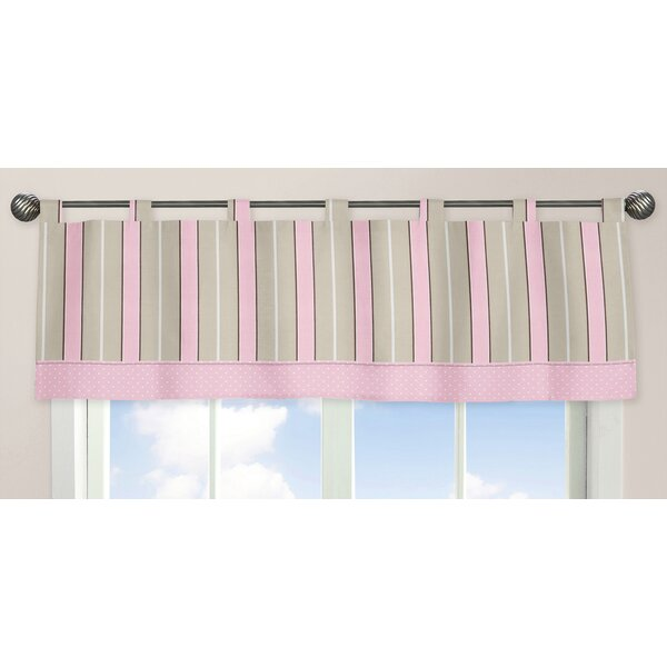 Mod Dots 84 Curtain Valance by Sweet Jojo Designs