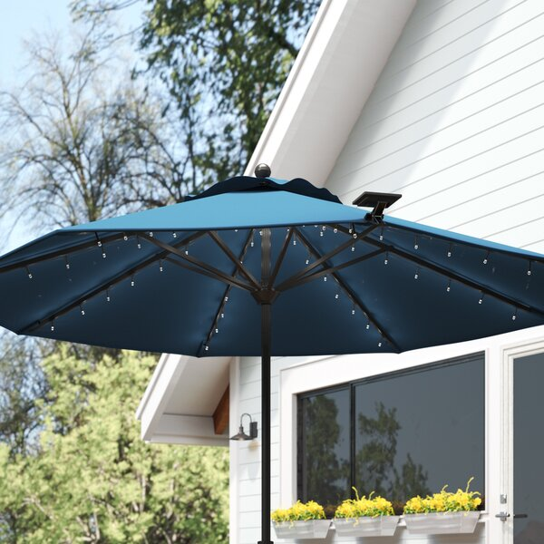 Aaron Solar Umbrella Lighting by Freeport Park