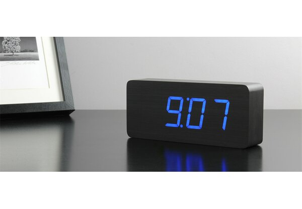 Gingko Slab Desktop Clock by Brayden Studio
