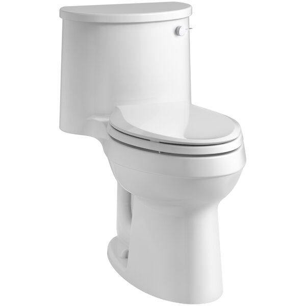 Adair Comfort Height 1.28 GPF Elongated One-Piece Toilet by Kohler