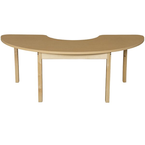 64 x 22 Kidney Activity Table by Wood Designs