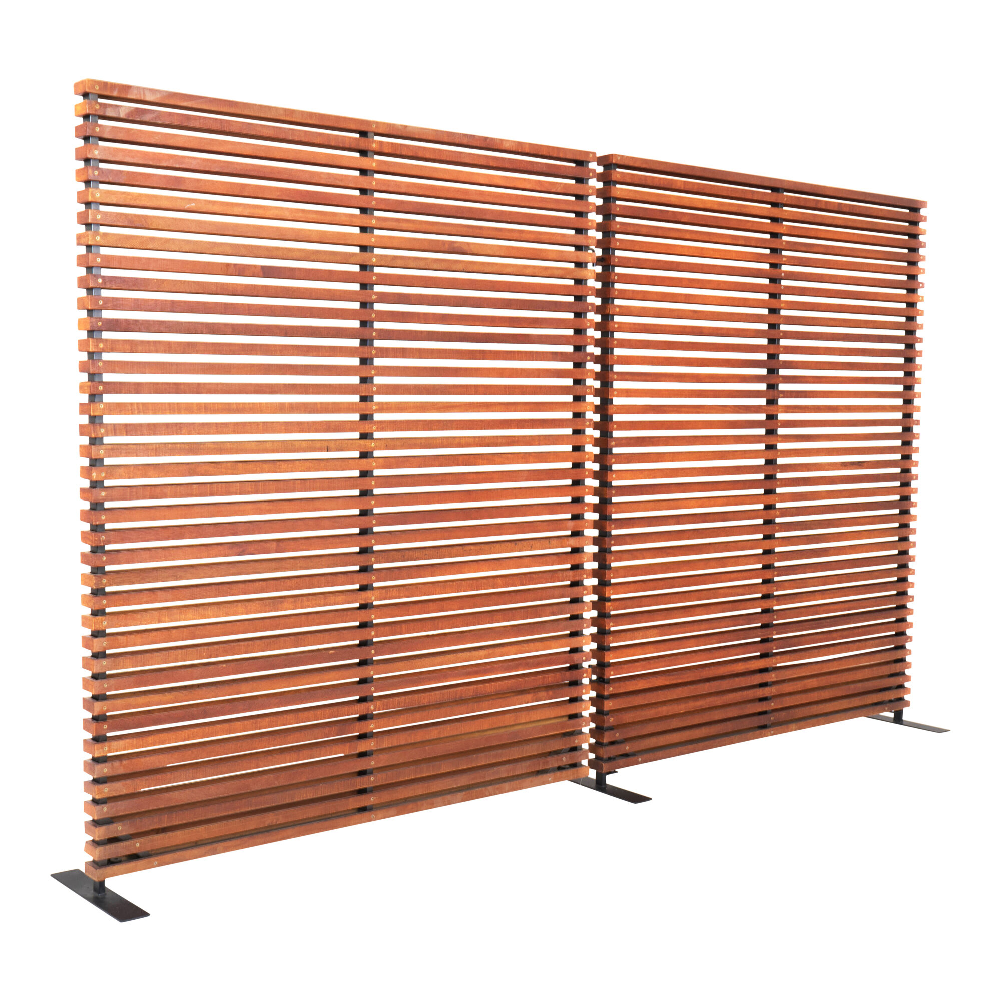 Union Rustic Shiela 2 Panel Room Divider Reviews Wayfair