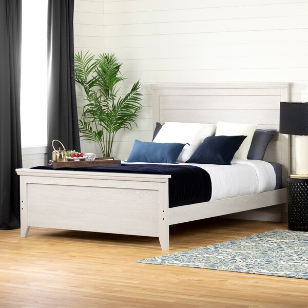 Lilak Queen Platform Bed by South Shore