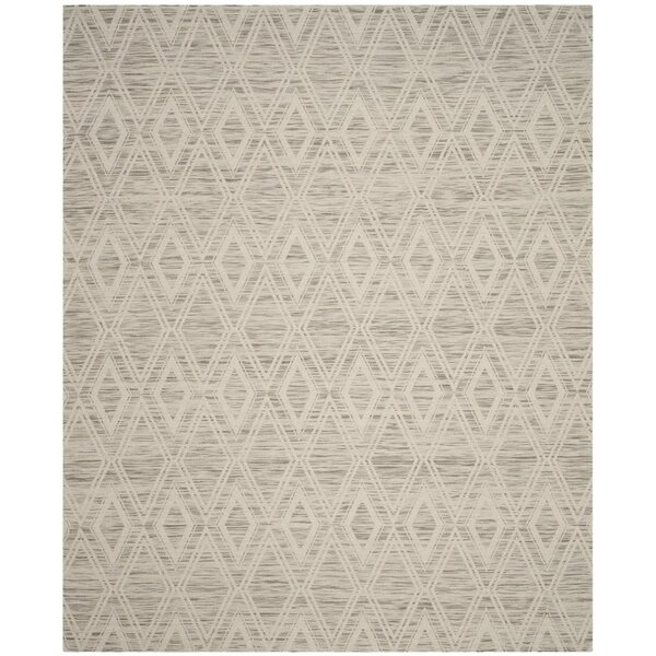 Alexandria Hand-Woven Light Brown/Ivory Area Rug by Langley Street