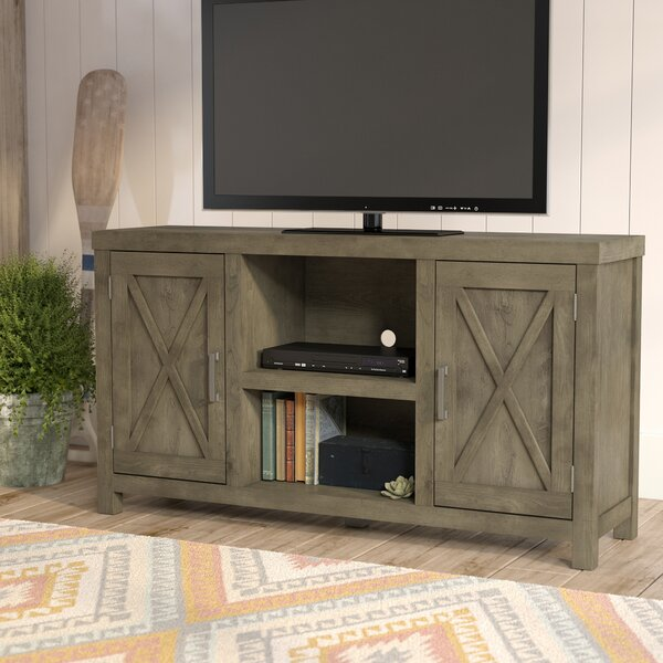 Dodson 53 TV Stand with Optional Fireplace by Loon Peak