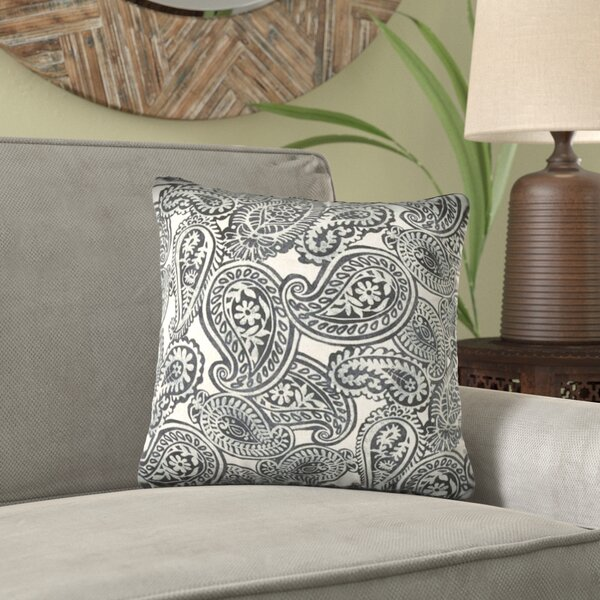 Dalaigh Zippered Indoor/Outdoor Throw Pillow