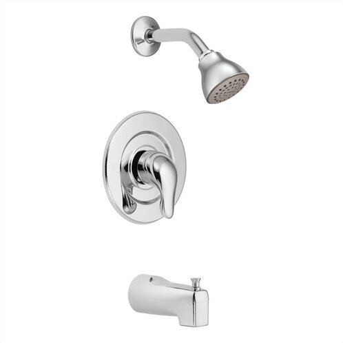 Chateau Tub and Shower Faucet Trim with Lever Handle by Moen