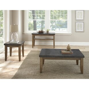 Dejardins 3 Piece Coffee Table Set Lark Manor
