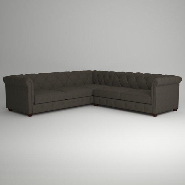 Keegan Sectional by AllModern Custom Upholstery